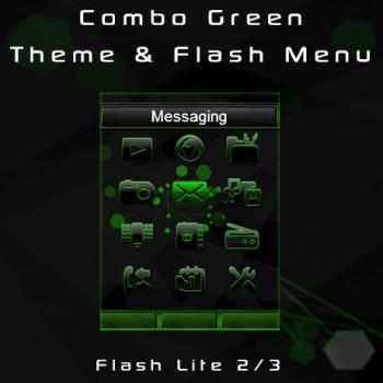 Combo Green Theme & Flash Menu