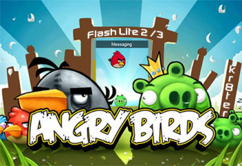 Angry Birds Theme & Flash Menu