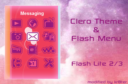 Clero Theme & Flash Menu