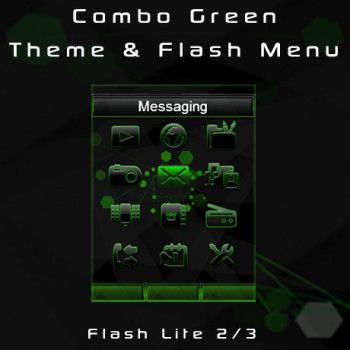 Combo Green Theme & Flash Menu