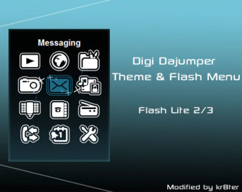 Digi Dajumper Theme & Flash Menu