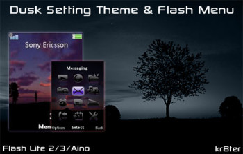 Dusk Setting Theme & Flash Menu