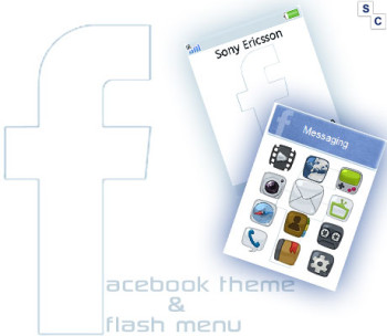 Facebook Theme & Flash Menu