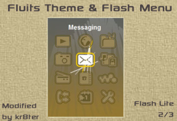 Fluits Theme and Flash Menu