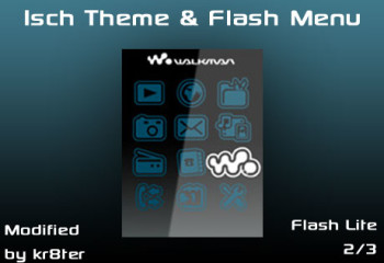 Isch Theme and Flash Menu