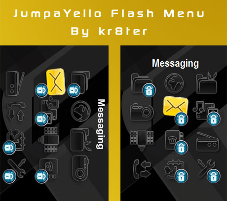 JumpaYello Flash Menu