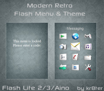 Modern Retro Theme & Flash Menu