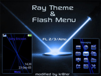 Ray Theme & Flash Menu