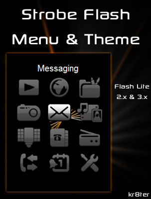 Strobe Flash Menu & Theme