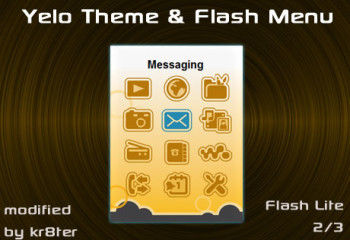 Yelo Theme and Flash Menu