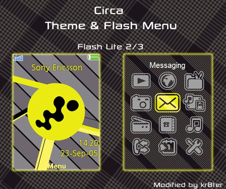 Circa Theme & Flash Menu