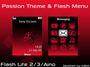 Passion Theme & Flash Menu