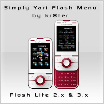 Simply Yari Flash Menu