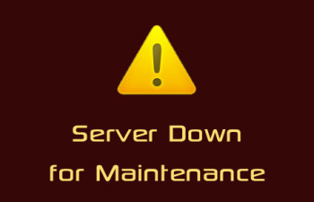 Server Down For A While