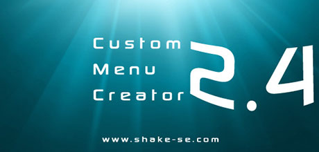 Custom Menu Creator 2.4
