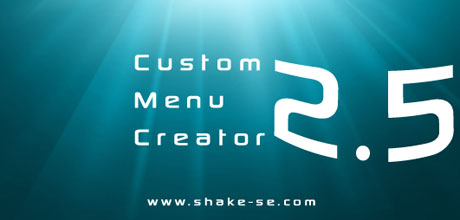 Custom Menu Creator 2.5