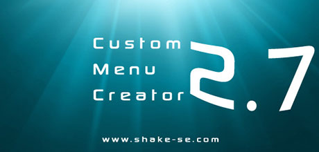 Custom Menu Creator 2.7 Preview