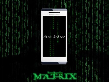 Matrix Wallpaper for Aino