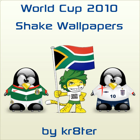 World Cup 2010 Shake Wallpapers